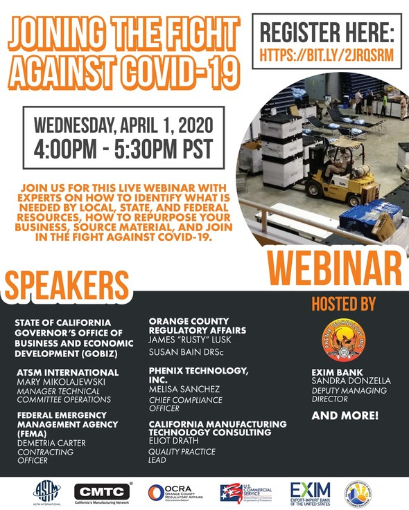 [Kita 4.1 nesw] Covid19 response webinar on repurposing your manufacturing to support with relief efforts
