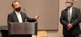 가주 김치의 날 결의안 통과 기념 행사